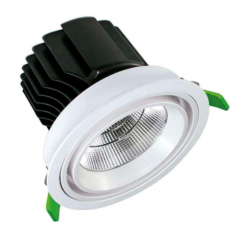 Downlight Led PRICKLUX TRADE 50W, Blanco cálido